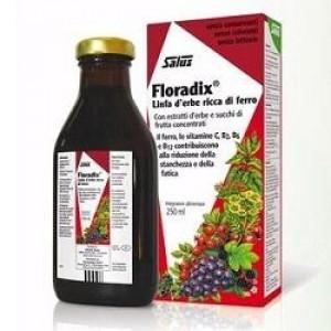 Salus Floradix Linfa d'erbe ricca di ferro 500ml