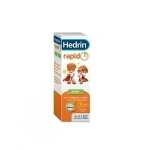Hedrin rapido liquido gel spray spray 60 ml