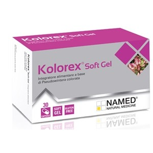 Named Kolorex Soft Gel 60 capsule