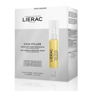 Lierac Cica-Filler siero anti-rughe riapratore 3 fiale da 10 ml