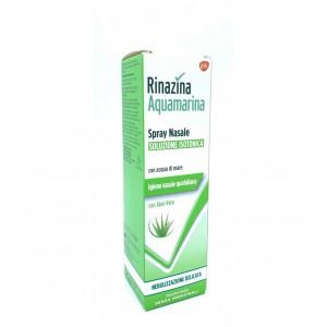 Rinazina Aquamarina Spray Nasale Soluzione Isotonica Delicata Aloe Vera 100ml