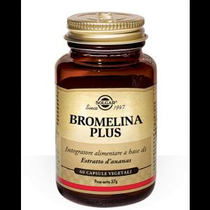 Solgar Bromelina Plus 60 Tavolette
