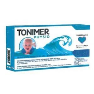 Tonimer physio monodose soluzione isotonica multifunzione abase di cloruro di sodio 0,9% 20 flaconcini 5 ml promo