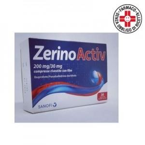 Zerino Activ 200mg+30mg 20 compresse